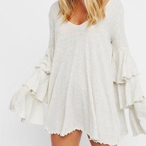 Free People Seashore Mini Dress - L